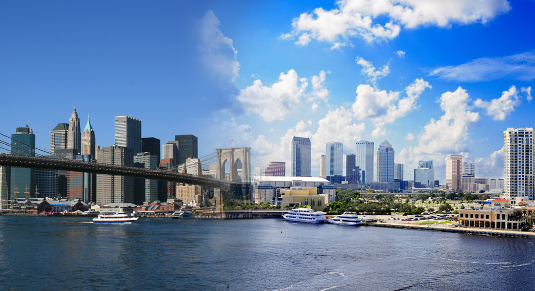 Composite, NYC and Tampa