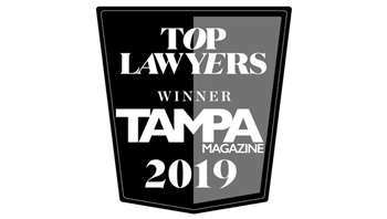 2019 Top Lawyers, Tampa Magazine